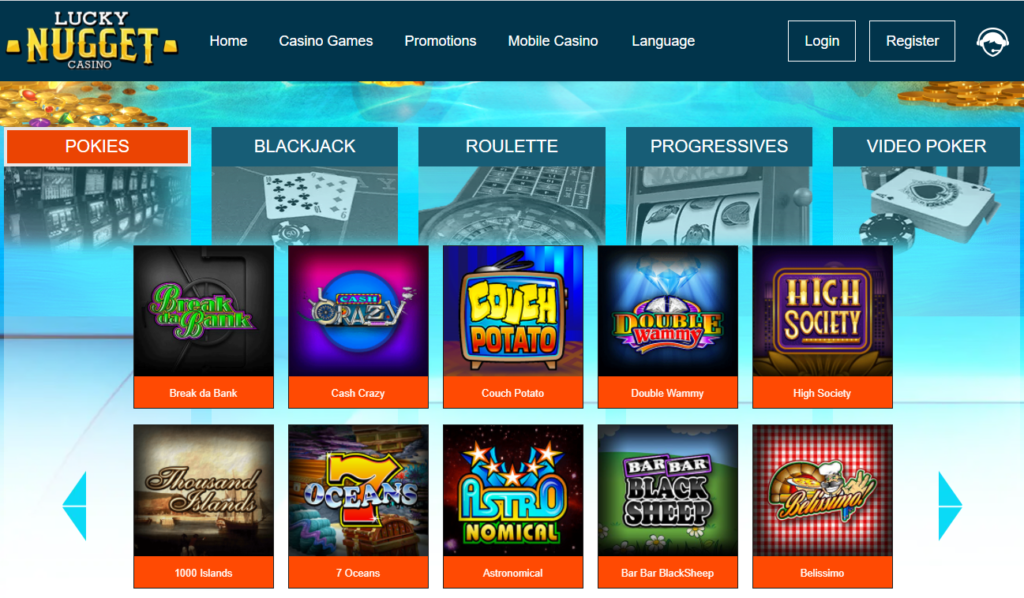 luckynugget games